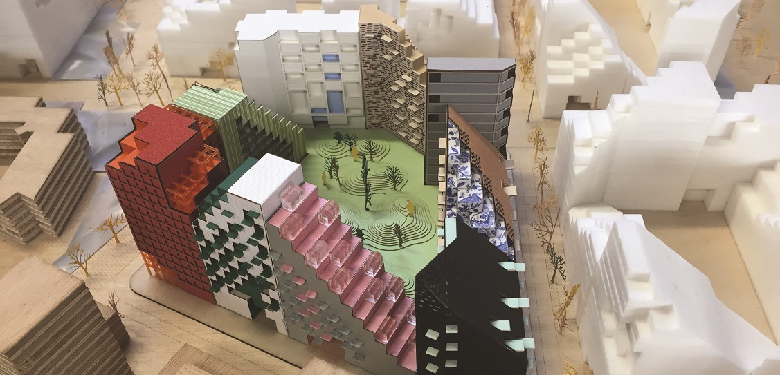 Manuelle Gautrand is developing the Hyde Park scheme in Amsterdam. Picture: Manuelle Gautrand