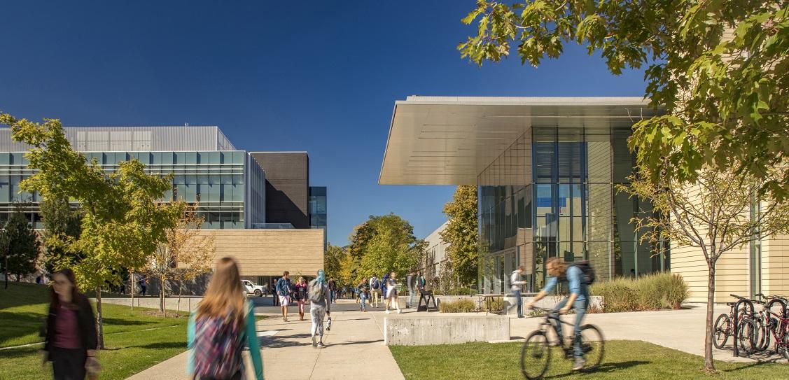 Bohlin Cywinski Jackson designed the CoorsTek Center. Picture: Ron Pollard