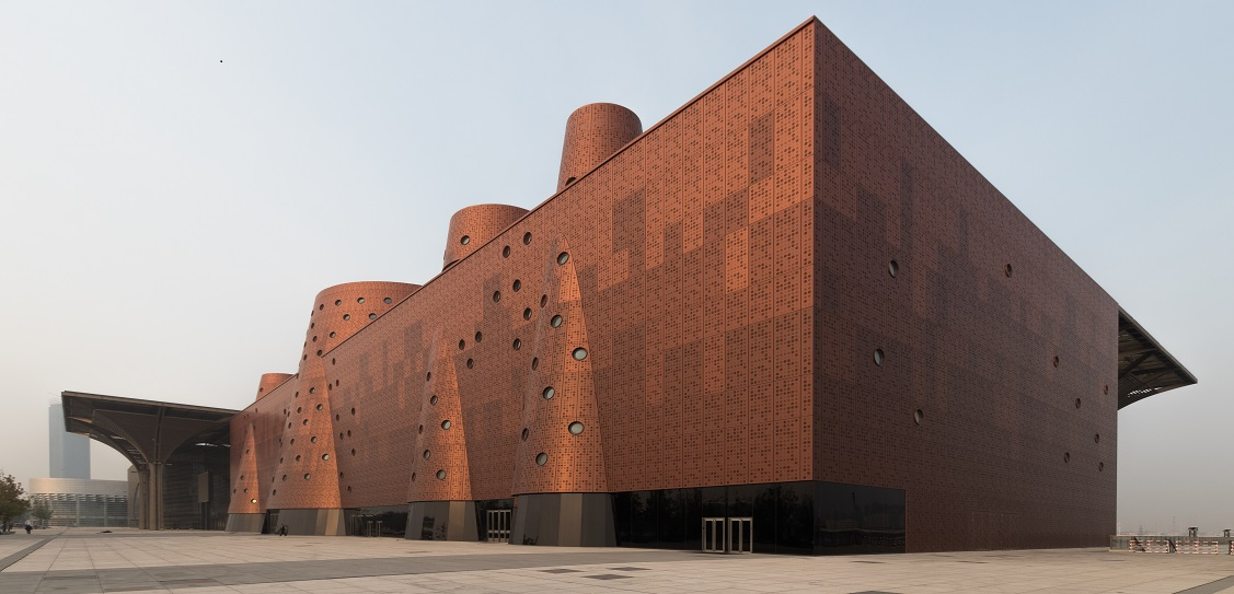 Bernard Tschumi Architects designed the Exploratorium in Tianjin, China. Picture: Kris Provoost