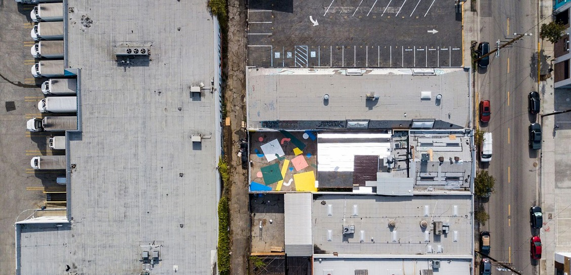 Confetti Courtyard at design brand Hem's debut US showroom. Picture: David Salpeter