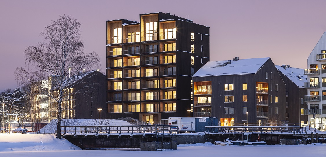 C.F. Møller Architects designed Kajstaden in Sweden. Picture: Nikolaj Jakobsen