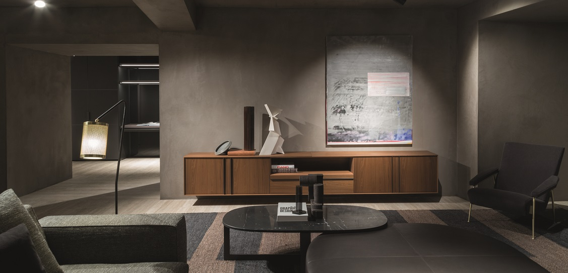 Vincent Van Duysen designed the new Molteni flagship store in London Picture: Molteni Group