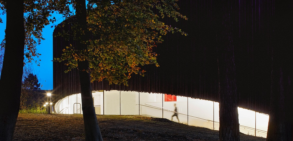 Studio Seilern Architects designed a new performing arts centre at Wellington College in Berkshire. Picture: Hufton+Crow