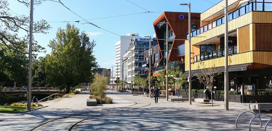 Avon River Park Terraces + City Promenade - LandLAB`