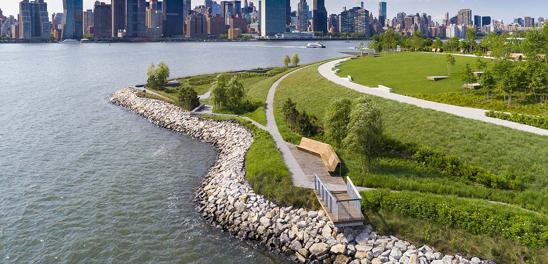 Hunter's Point South Waterfront Park - SWA/BALSLEY and WEISS/MANFREDI