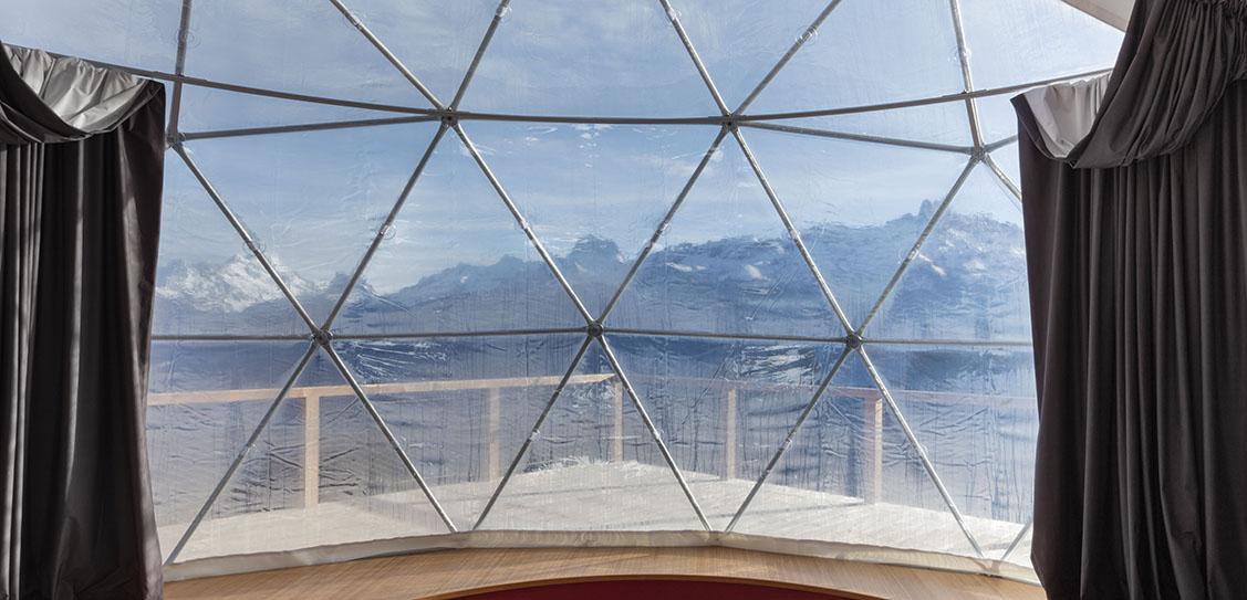 Whitepod, Zen Suite - Montalba Architects