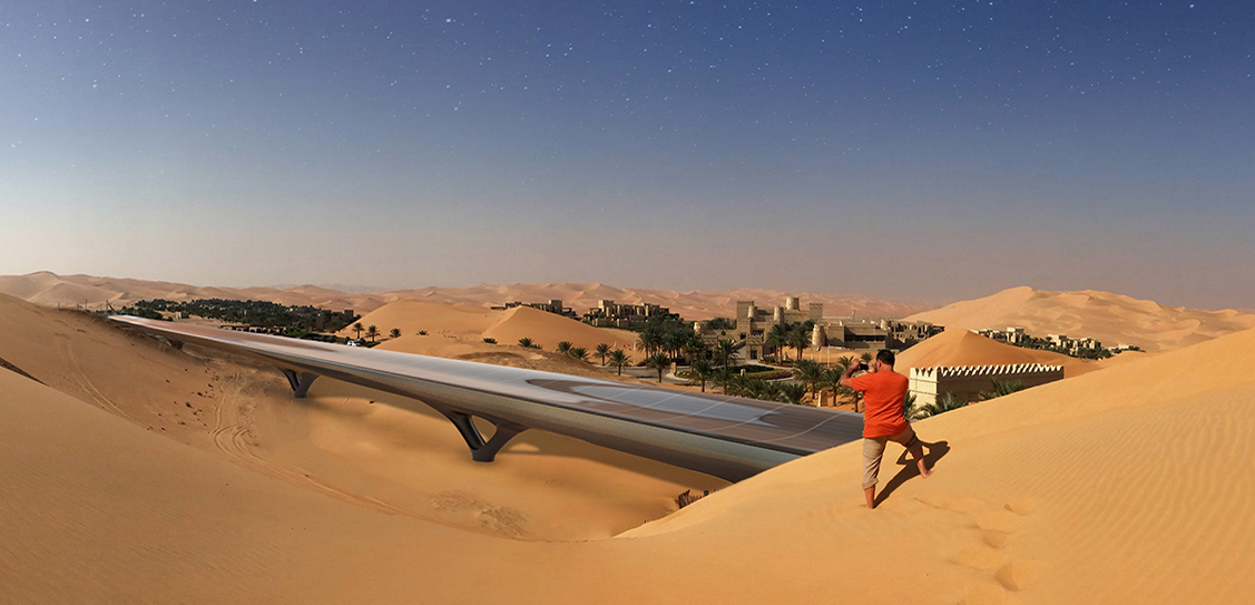 HyperloopTT system by MAD Architects (Photos: MIR)