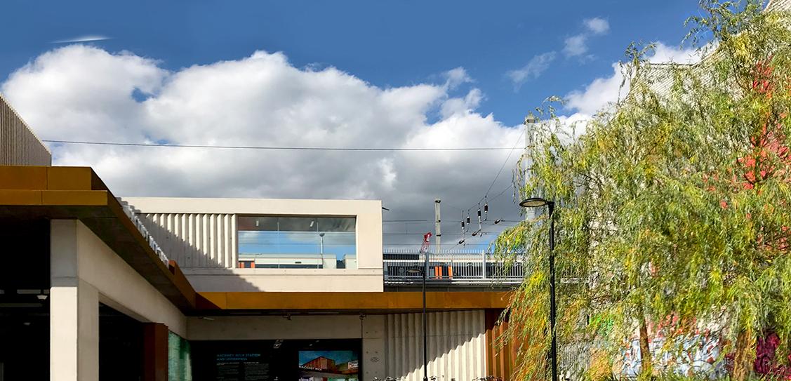 Hackney Wick Train Station - Landolt + Brown