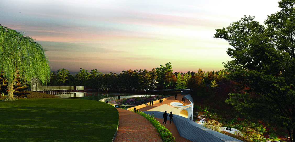 New Water/Botanical Garden for the State of Arkansas - University of Arkansas Community Design Center
