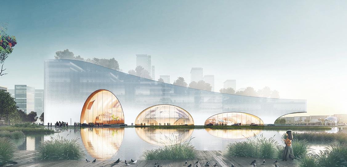 Hengqin Culture & Art Complex - SZAD/Atelier Yunchao Xu
