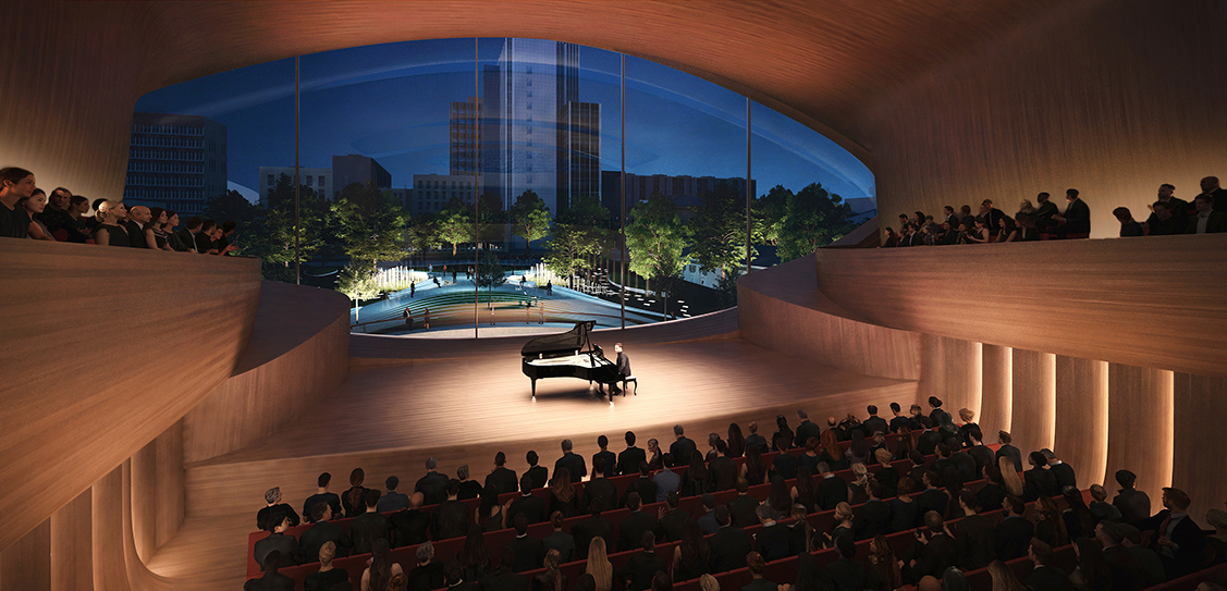 Sverdlovsk Philharmonic Concert Hall - Zaha Hadid Architects