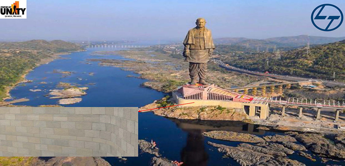 The Statue of unity - Larsen & Toubro Limited