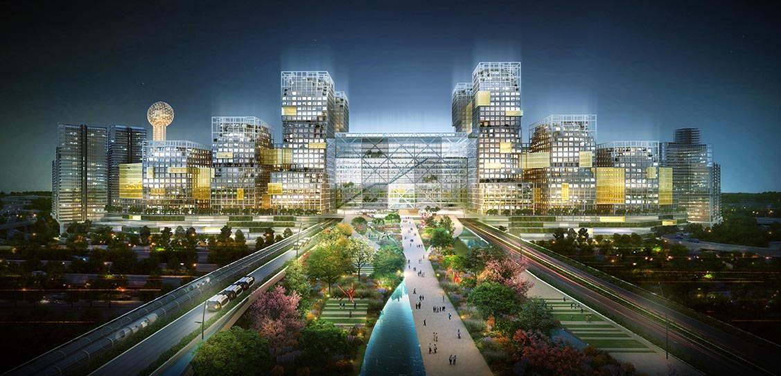 Amazon HQ2 - Dallas - HKS