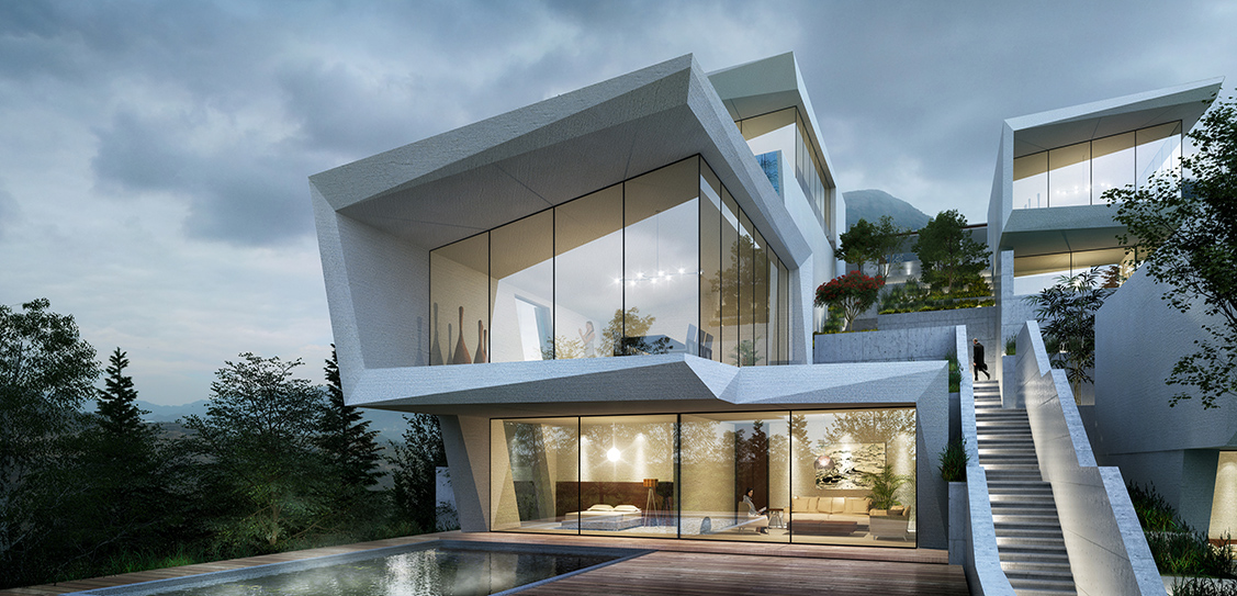 Cliff Hotel of XiaoZhou Mountain - GWP Architects