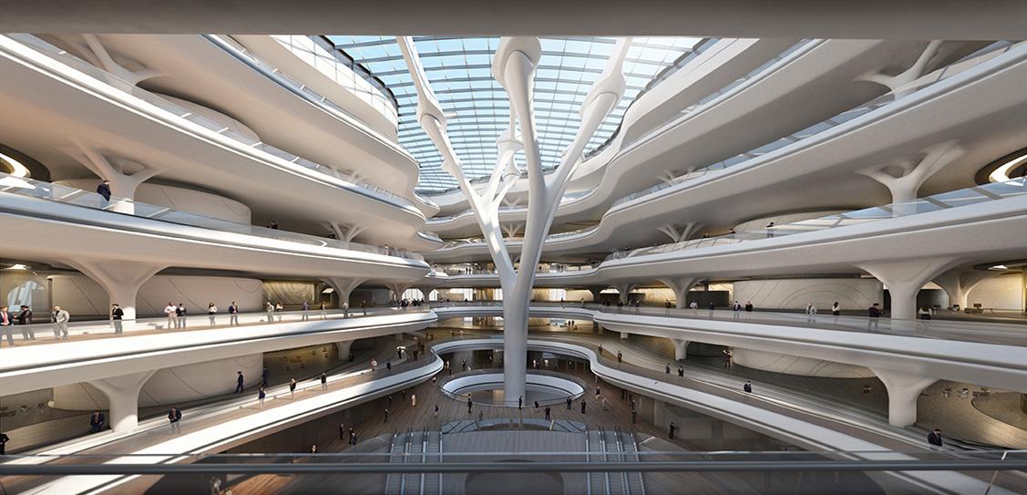 Sberbank Technopark - Zaha Hadid Architects