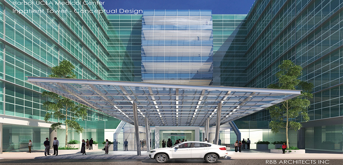 Harbor UCLA Medical Center Inpatient Tower - RBB Architects Inc.