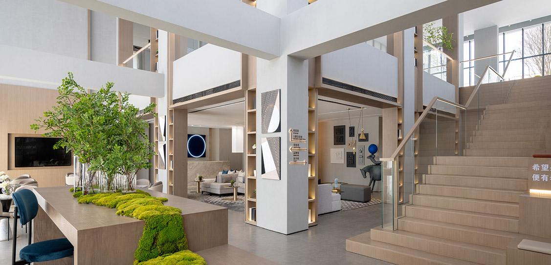 Endless Blue Life Hall - G&K International Design Institution