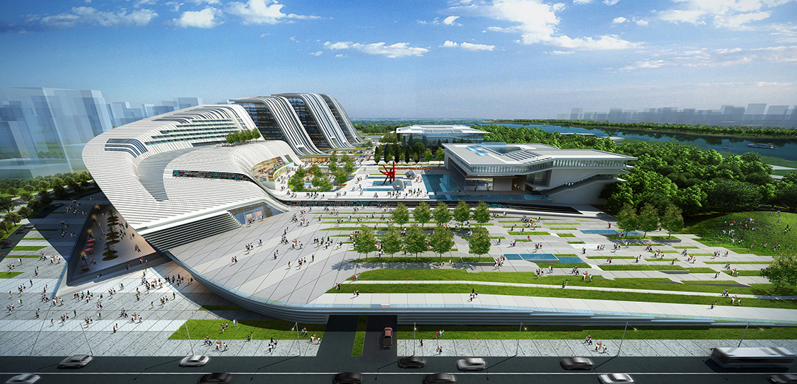 Jining Cultural Center- Laguarda.Low Architects