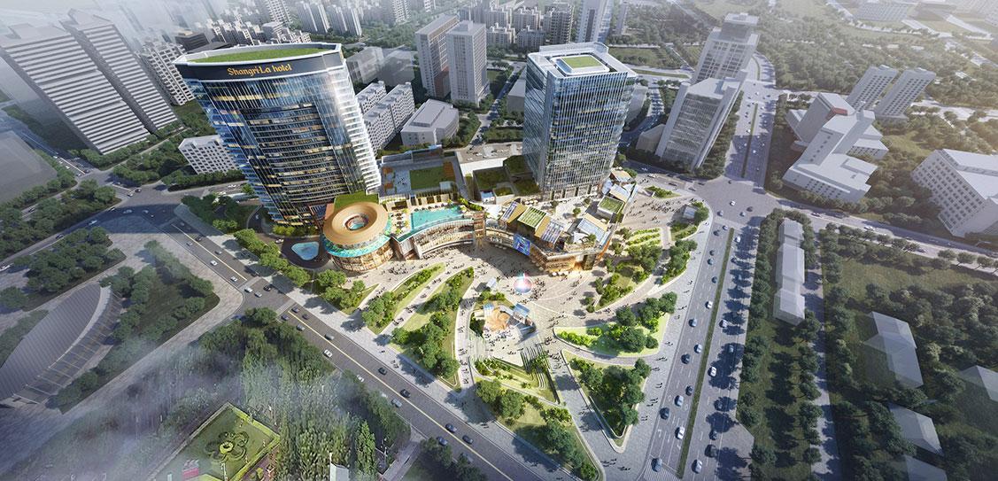 2019 WAN Awards: Fuzhou Shangri-La Mixed-use Development - Lead8