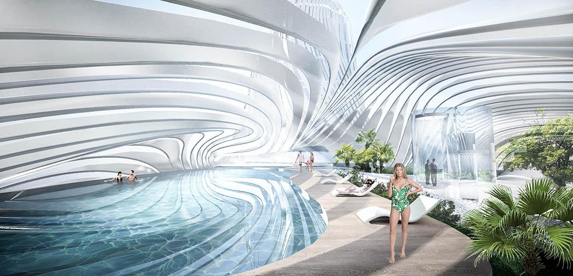 The Wave - Yanghe Headquarters - CROX