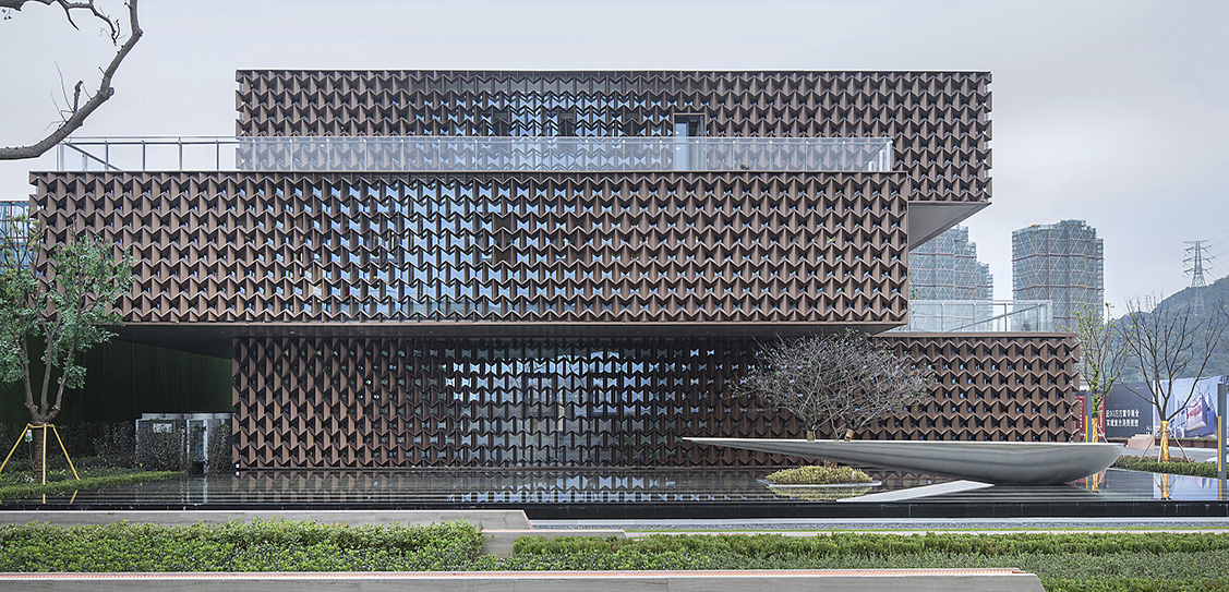 The Sales Center in Wenzhou TOD New Town - NAN Architects