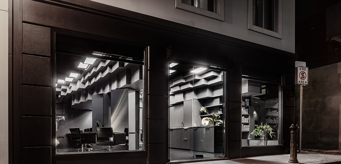 Zowie Evans Hairdressing - Cheah Saw Architecture, Images: Trevor Mein