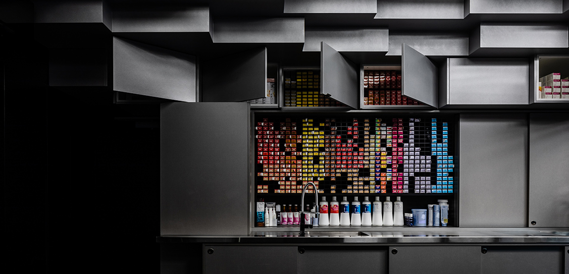 Zowie Evans Hairdressing - Cheah Saw Architecture