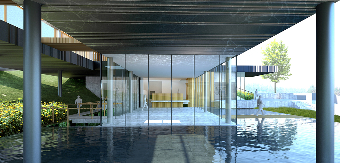 The Promenade on the Foot of the Mountains of Heaven - Studio A+
