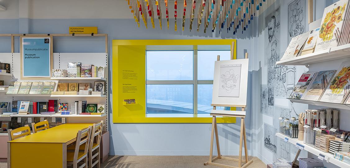 Van Gogh Museum Bookshop - Claessens Erdmann
