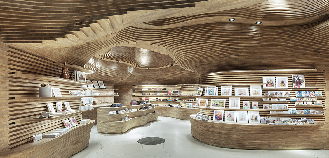 National Museum of Qatar Gift Shops - Koichi Takada Architects