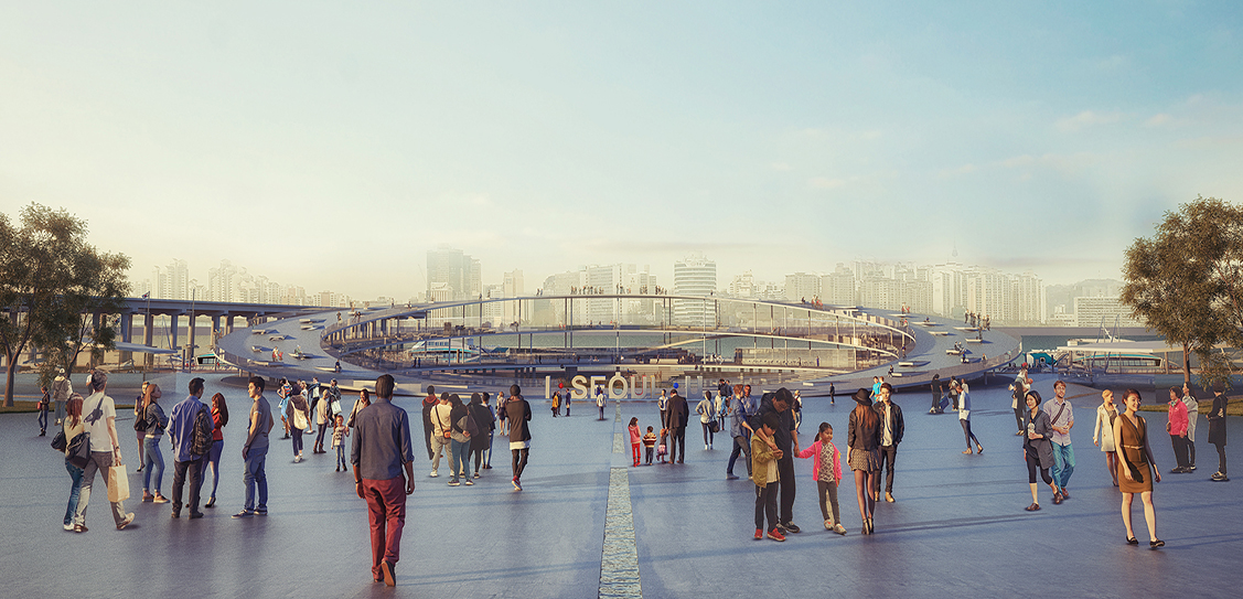 Seoul Yeoui-Naru Ferry Terminal - Weston Williamson + Partners