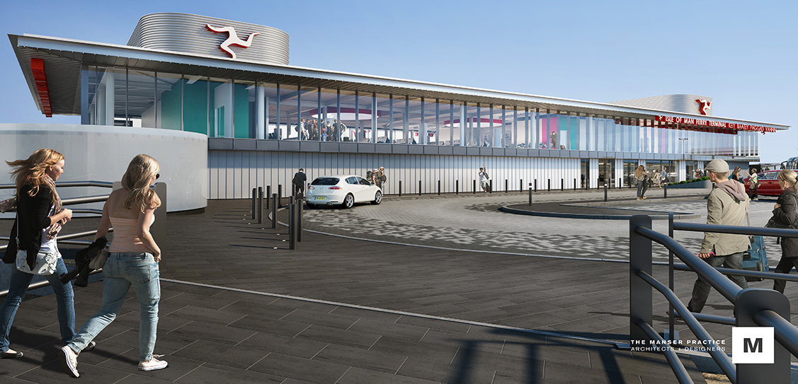 Isle of Man Ferry Terminal - The Manser Practice