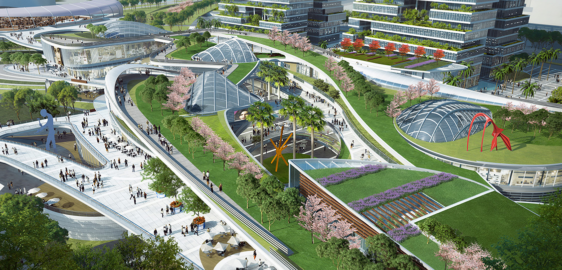 Bao'an Central District Park - Laguarda.Low Architects