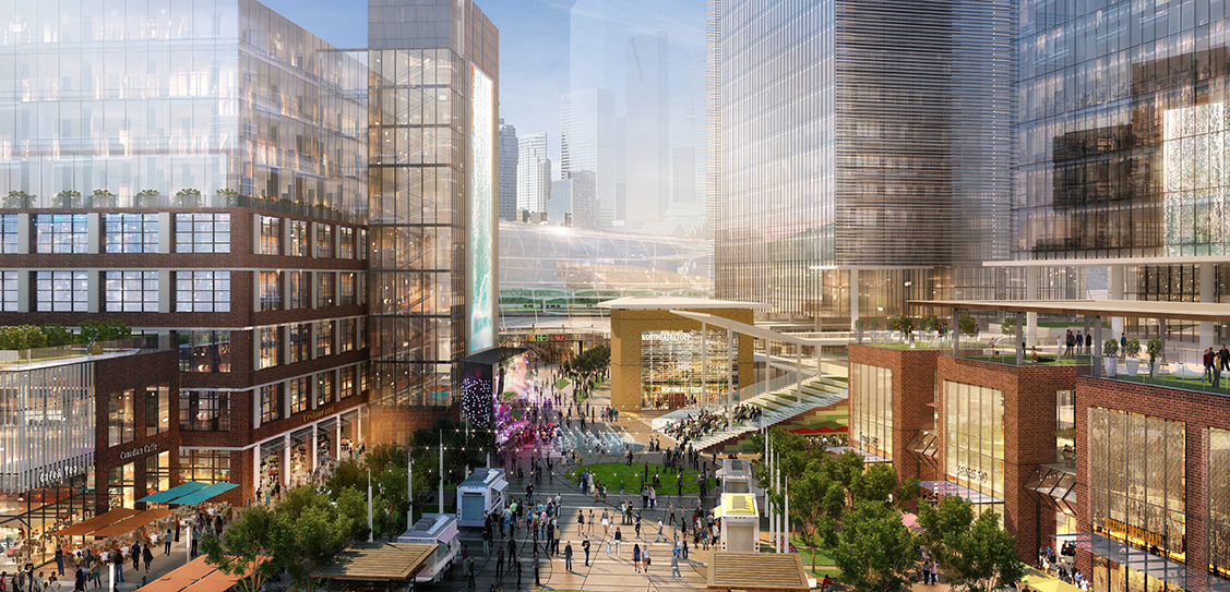 The Unilever Precinct Plan and East Harbour Master Plan - City of Toronto / First Gulf