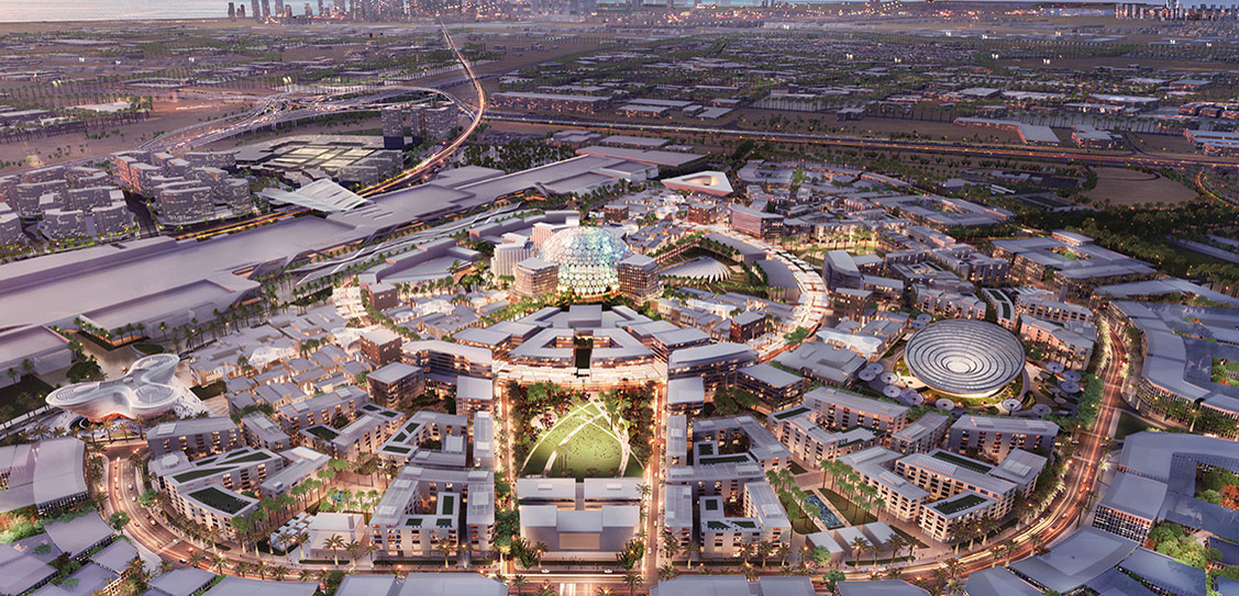 Expo 2020 Dubai Legacy District Adrian Smith + Gordon Gill Architecture