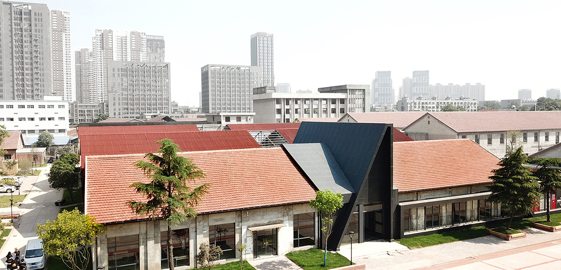 ART DESIGN CENTER IN THE REDTOWN WUHAN China - UAO
