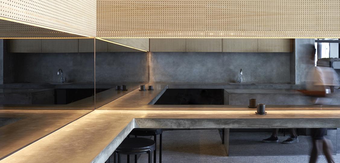 Sibling Espresso Bar - Travis Walton Architecture