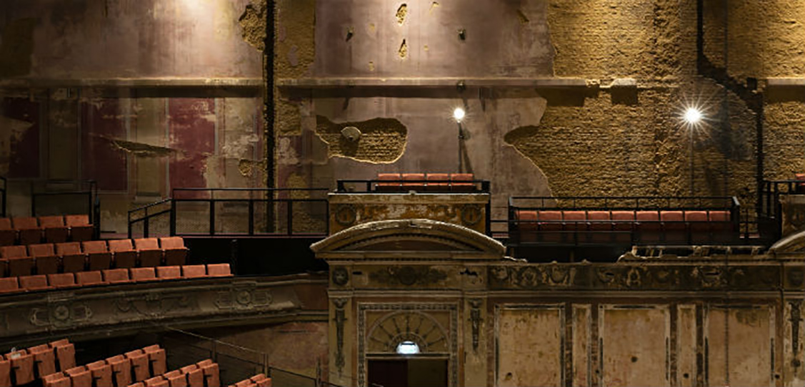 The theatre opened in 1875 but had been closed for the last 80 years. Picture: APPCT