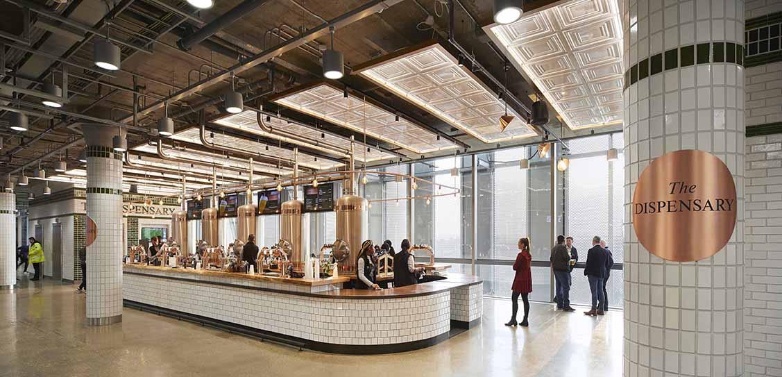 Tottenham Hotspur Stadium General Concourse by Jump Studios - a Populous company