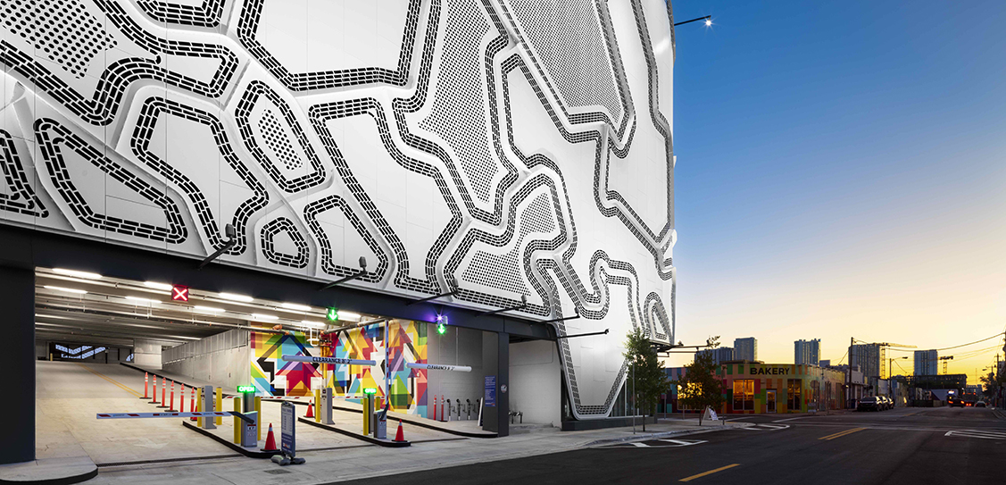 The Wynwood Garage Facade - Faulders Studio