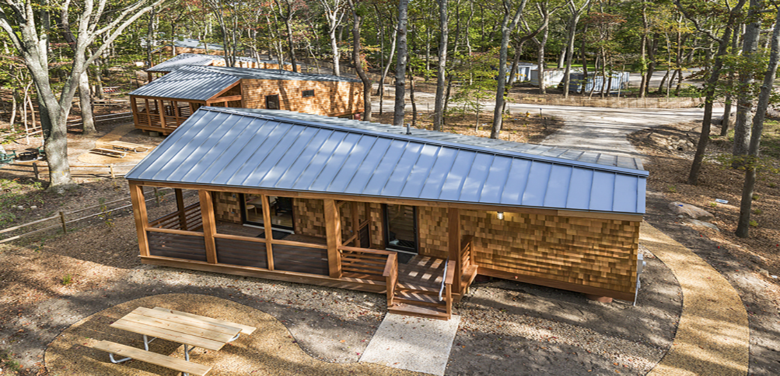 New York State Parks Cabins - WXY architecture + urban design