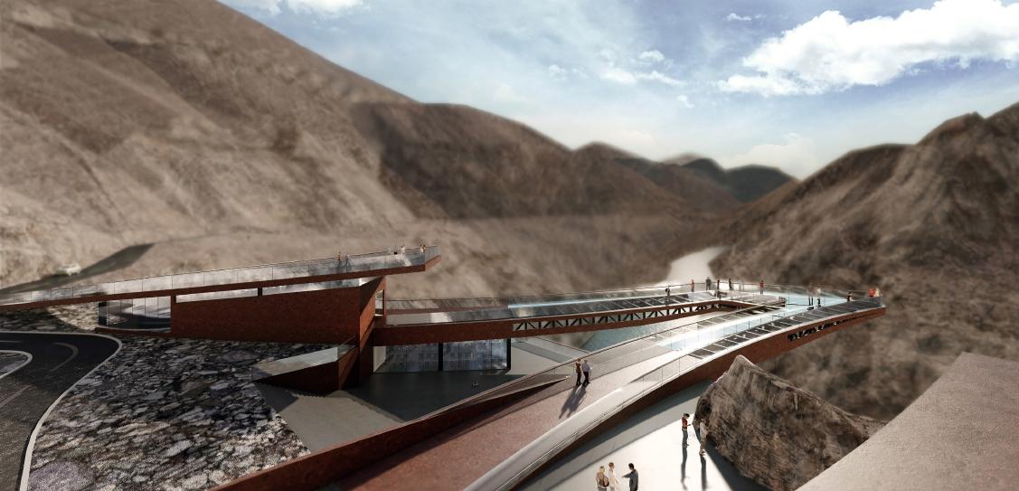 Viewing Platform of Nujiang(Salween River) 72-turnings Canyon in Basu,Tibet - ARCH-HERMIT
