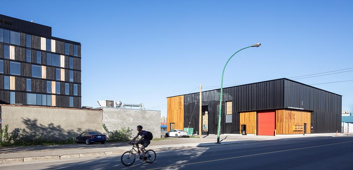 University of Northern British Columbia Wood Innovation Research Laboratory – Stantec Architecture Ltd