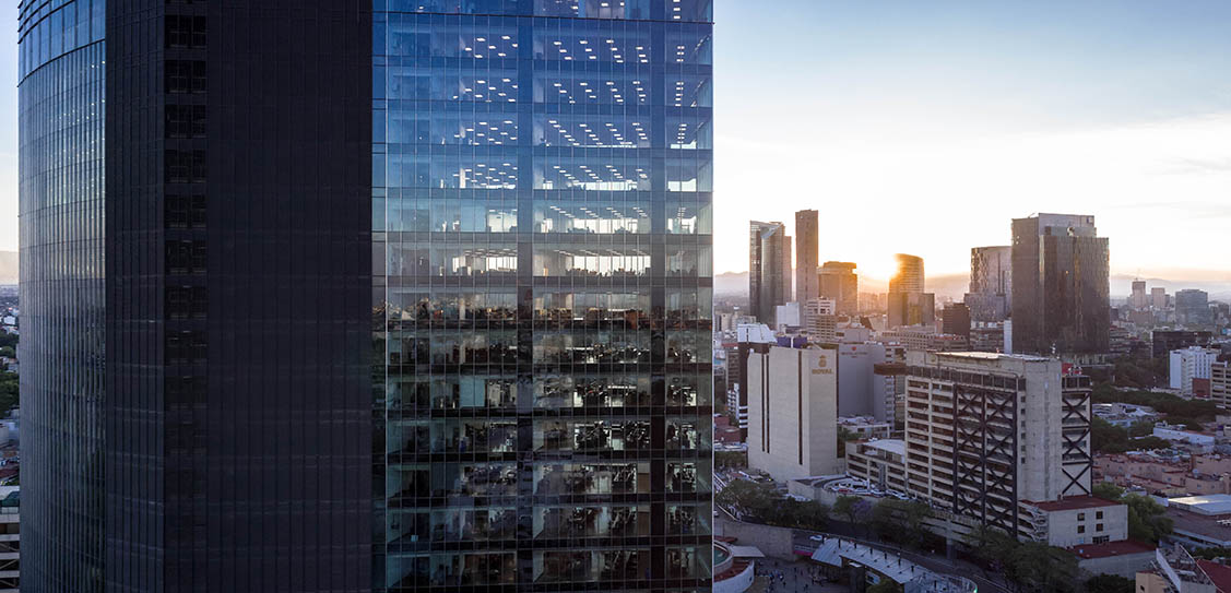 Glorieta Insurgentes Tower - CIMET Arquitectos