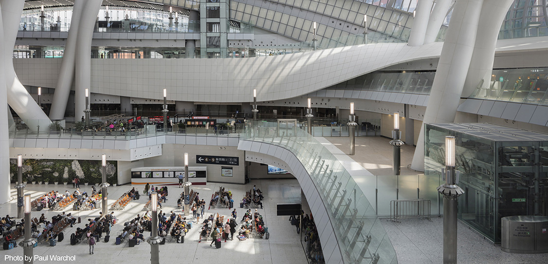 Hong Kong West Kowloon Station - Aedas