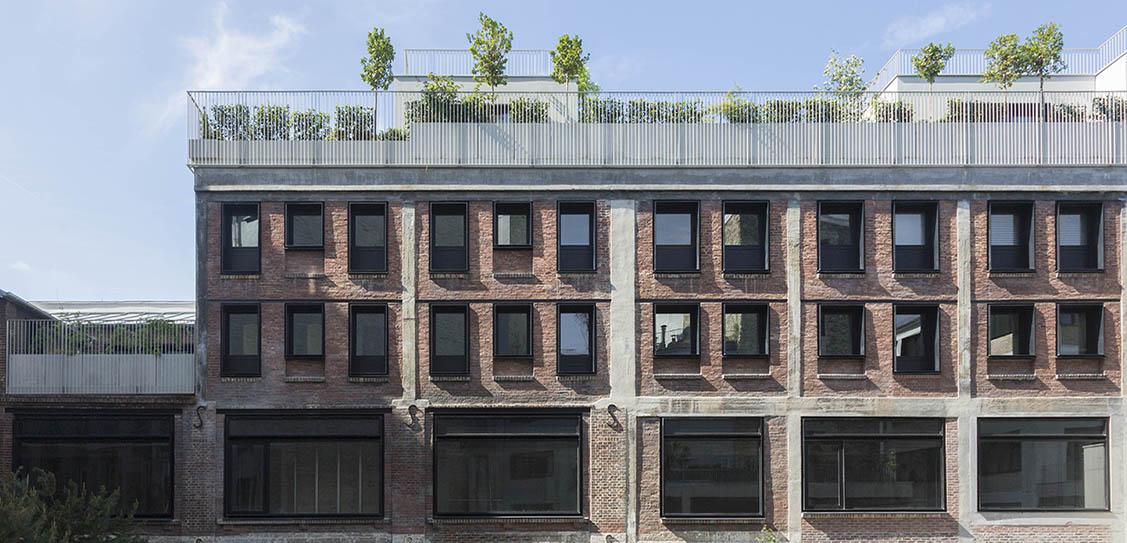 Beaupassage by Franklin Azzi Architecture. Photo credit: Alexandre Tabaste