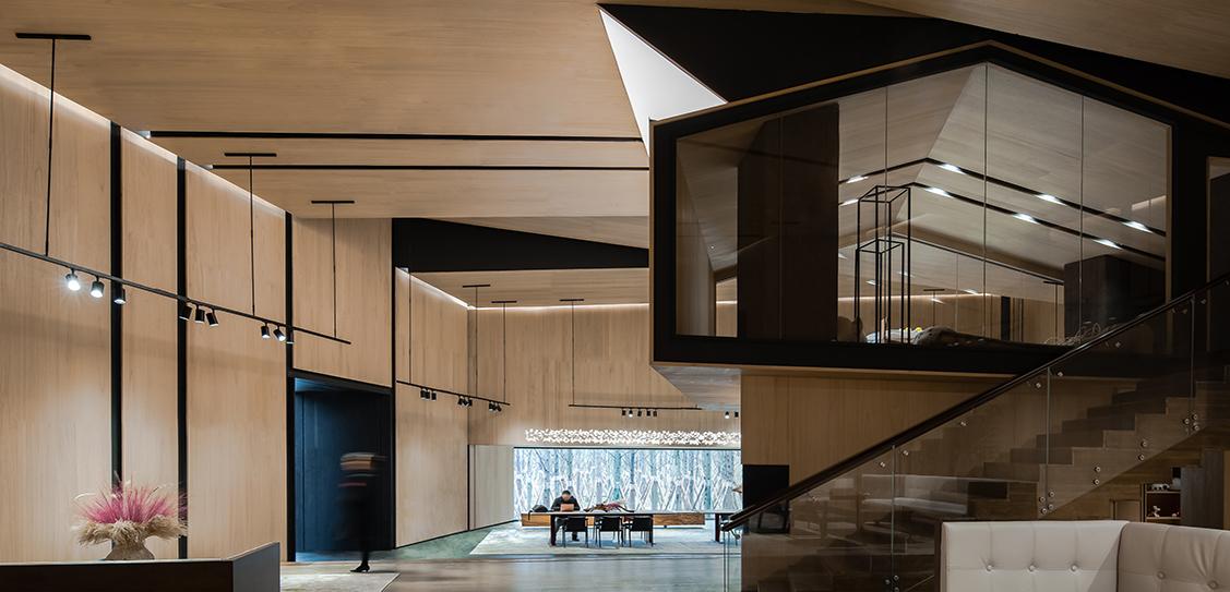 Vanke Forest Park Sales Center by ENJOY DESIGN, Images: He Chuan & Li Yan