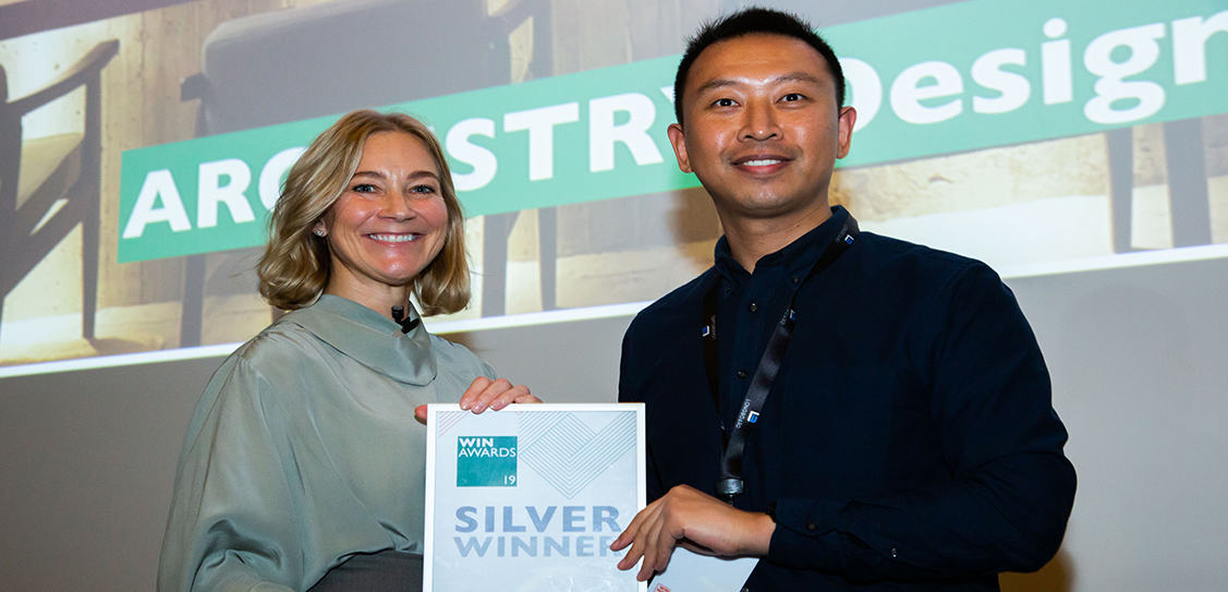 ARCHISTRY Design & Research Office win the Silver award in the Bars, Clubs and Cafés category
