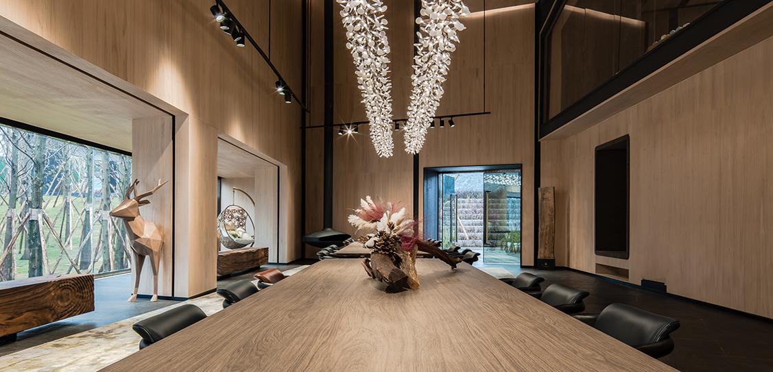 Vanke Forest Park Sales Center by ENJOY DESIGN