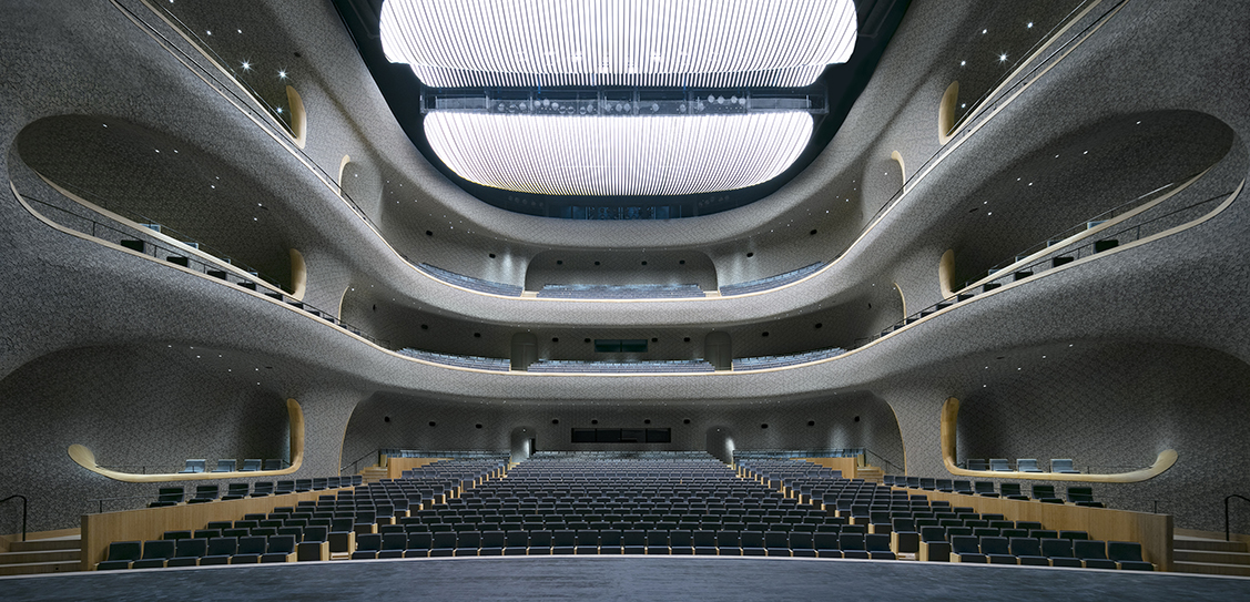 Fuzhou Strait Culture and Arts Centre Opera Hall - Photography by Marc Goodwin